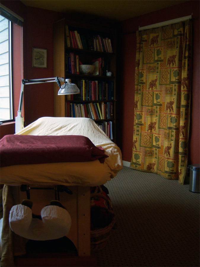 Bellingham Bay Acupuncture Treatment Room