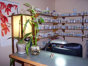 Bellingham Bay Acupuncture Front Desk Herbs